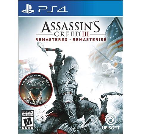Amazon.com: Assassins Creed III: Remastered - PlayStation 4 ...
