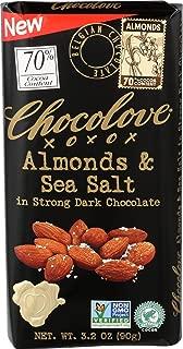 product image for Chocolove, Chocolate Bar Dark Almonds Sea Salt 70%, 3.2 Ounce
