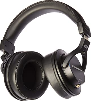 Stage Right Series Closed-Back Monoprice Multimedia Studio Reference Monitor Headphones 53mm