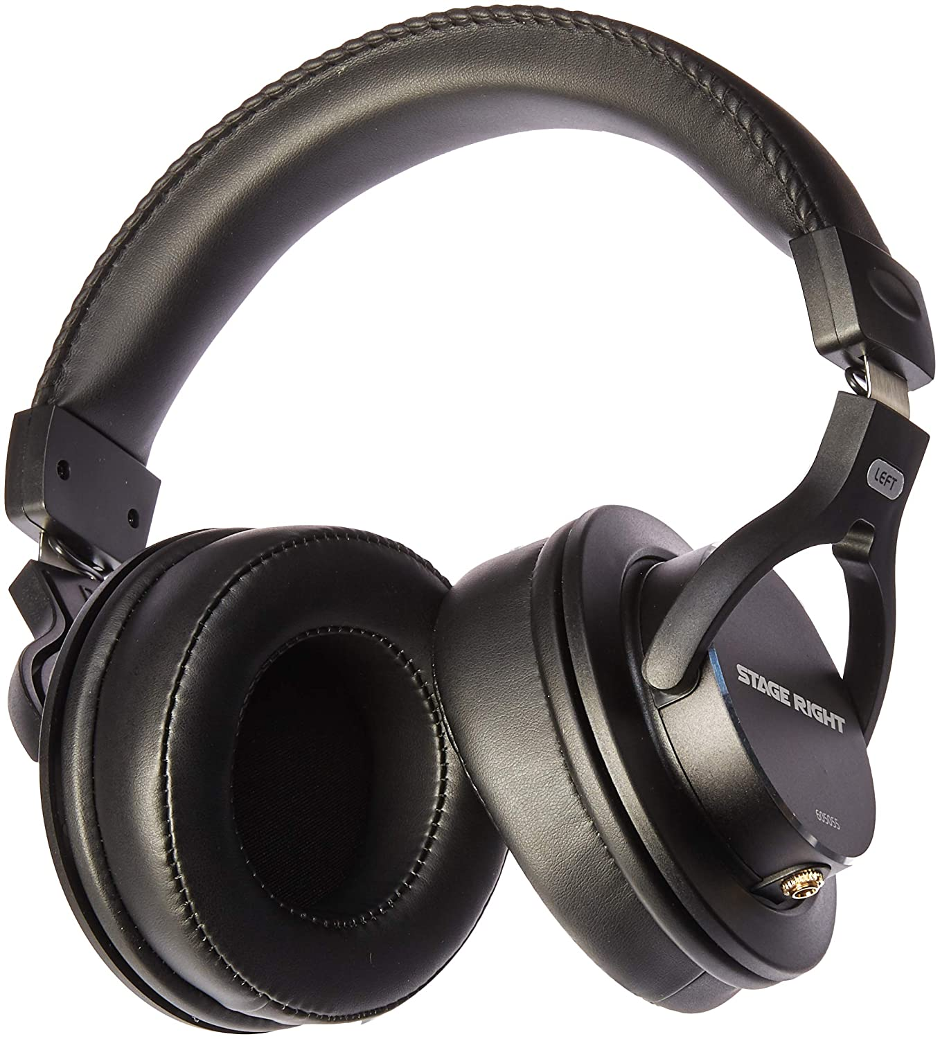 801952a918b Amazon.com: Monoprice Multimedia Studio Reference Monitor Headphones - 53mm  | Closed-Back - Stage Right Series: Electronics