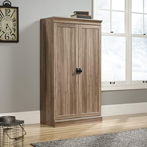 Sauder Barrister Lane Storage Cabinet, Salt Oak finish