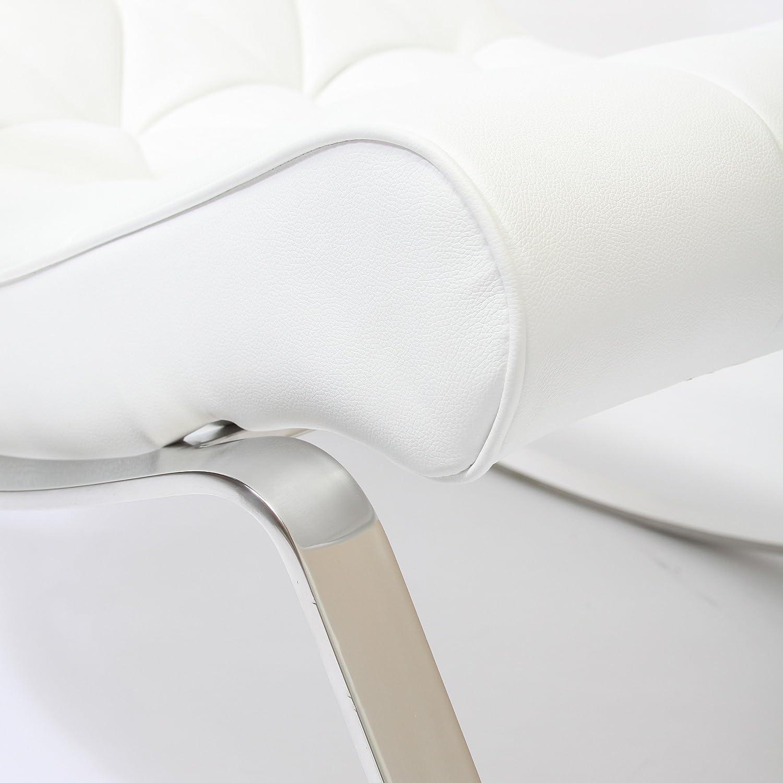 amazon com barcelona city modern design rocking lounge chair
