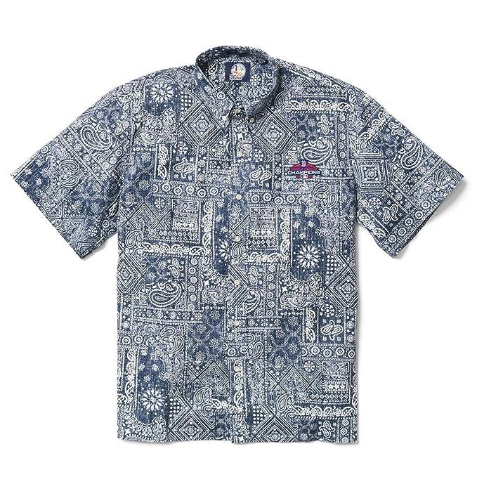 4f0ae995 Reyn Spooner Mens Boston Red Sox MLB Classic Fit Hawaiian Shirt Button Down  Shirt: Amazon.ca: Clothing & Accessories