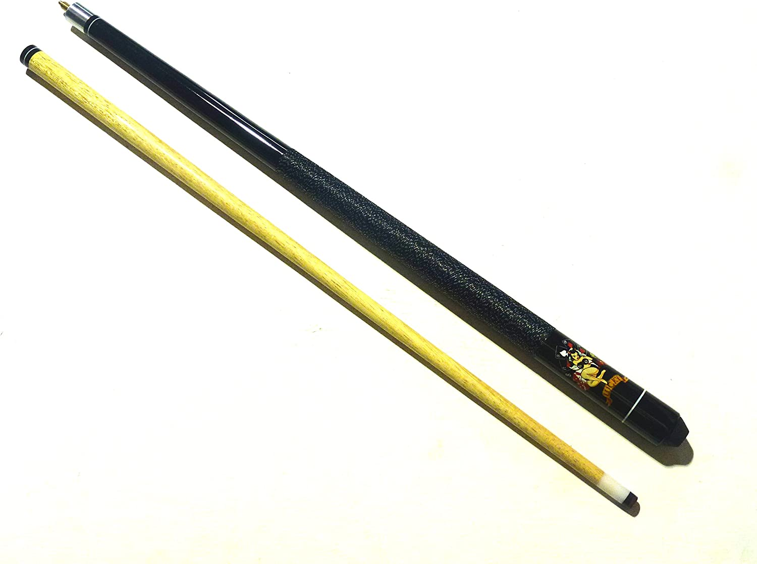 AMERICAN 12mm TIP HARWOOD LUCKY POOL CUE