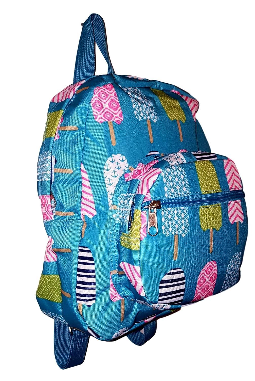 101 BEACH 11-inch Mini Backpack Purse Zipper Front Pockets Teen Child