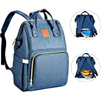 Baoyun Diaper Bag Backpack for Baby Waterproof Baby Travel Bags with Large Insulated Cooler