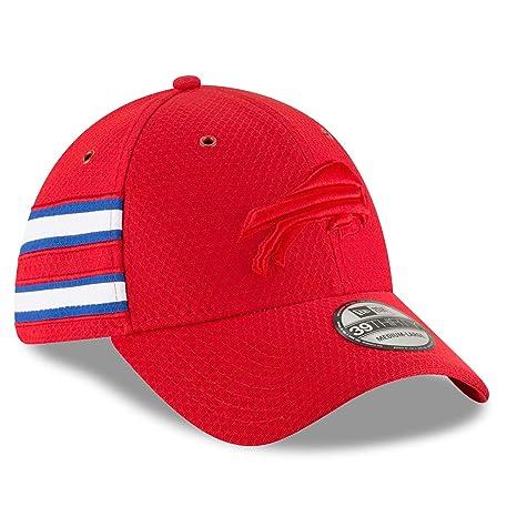 New Era Buffalo Bills 2018 NFL On Field Color Rush 39THIRTY Cap -  Small Medium 764f344cd50a