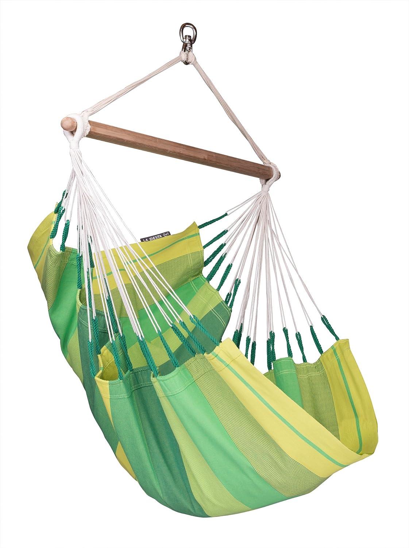 LA SIESTA Orqu dea Jungle – Cotton Basic Hammock Swing Chair