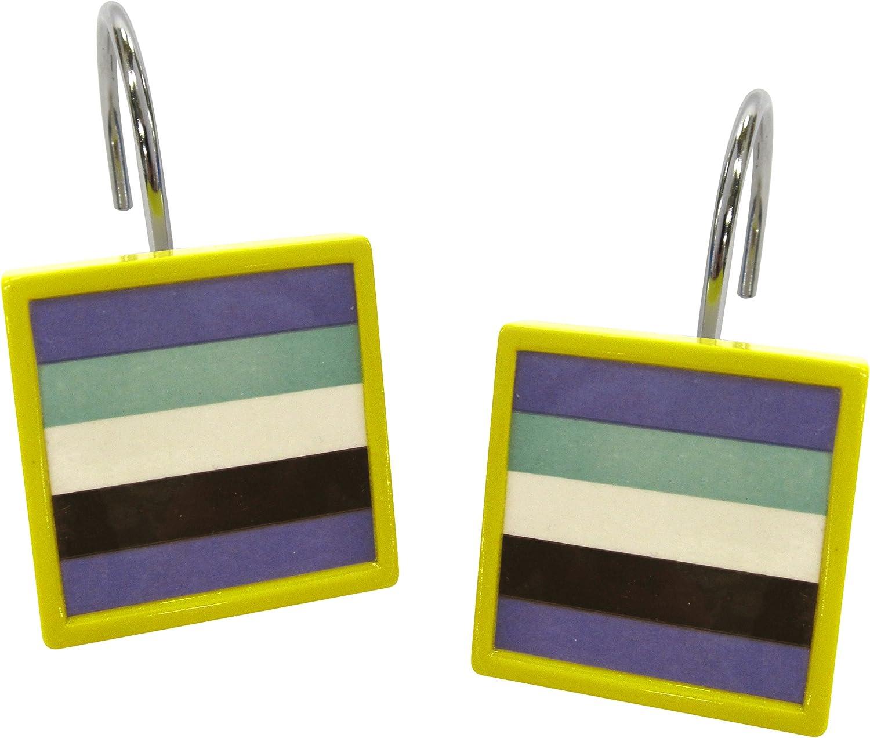 Allure Home Creations Techno Stripe Shower Hook