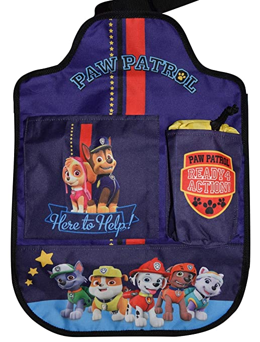Paw Patrol Pakfz630 Auto Spielzeugtasche Rückenlehnenschutz Rücksitz Organizer Blau Baby