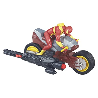 Spiderman Iron Spider Cycle Vehicle: Toys & Games
