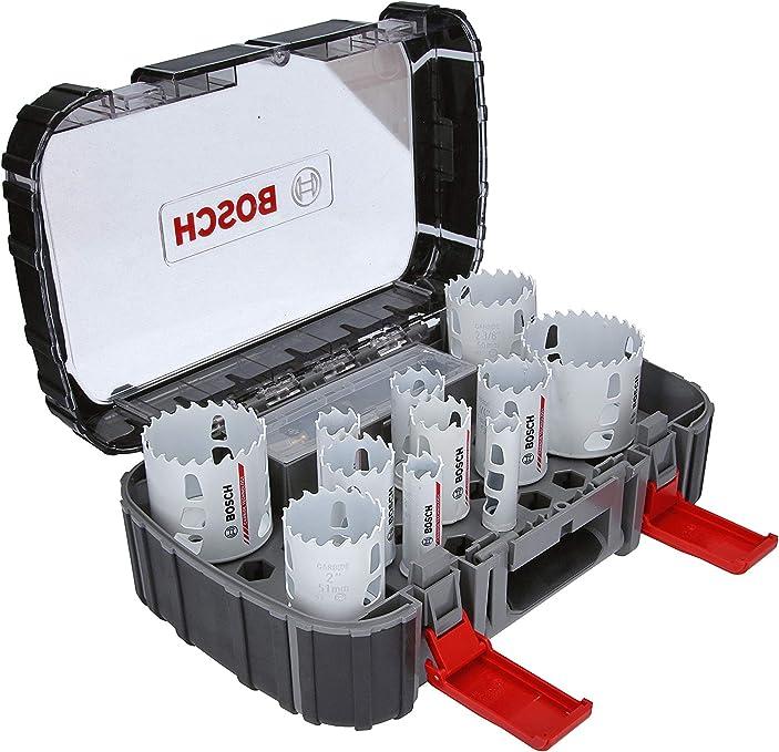 Bosch Professional 13 Tlg Carbide Lochsäge Endurance For Heavy Duty Universal Set Zubehör Bohrmaschine Baumarkt