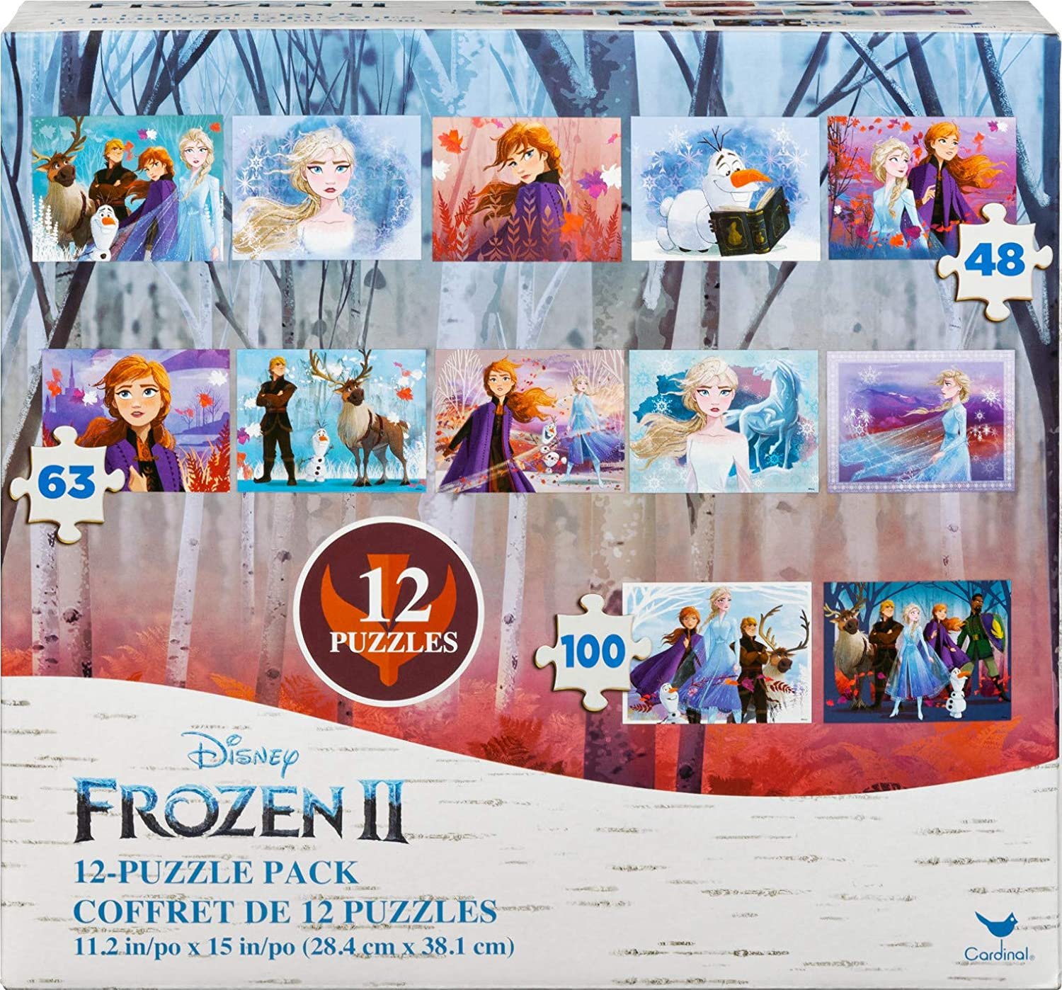 DISNEY Frozen 2 Elsa Be Brave Be Free Be You 500 Piece Puzzle NEW 14 x 11
