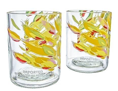 amazon com absolut mango vodka reclaimed bottles glassware barware