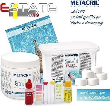 Kit de iniciación Chlor Multiaction para Tratamiento de Agua a ...