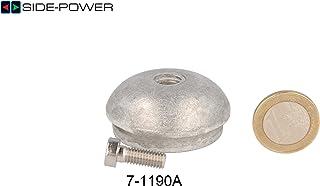 Anodo per Side Power Bug Strahl timone (71190a) Sleipner