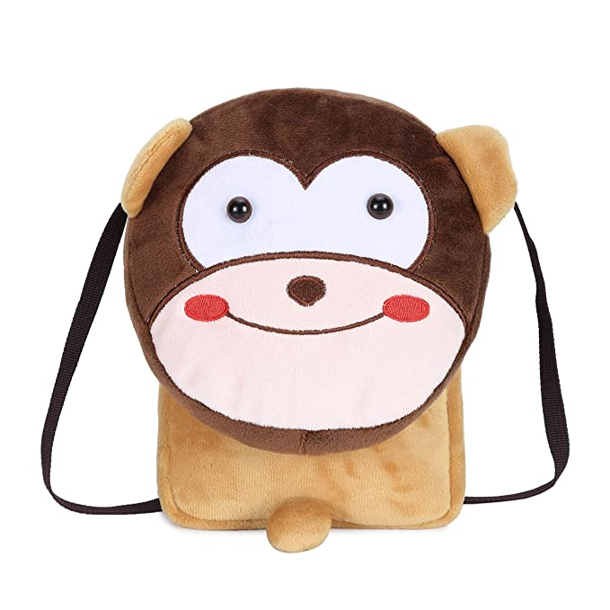 666814177c1 Image Unavailable. Image not available for. Color  Cute Small Toddler  Backpack for Girl Boy Kids Plush 3D Animal Cartoon Mini Preschool Bag for