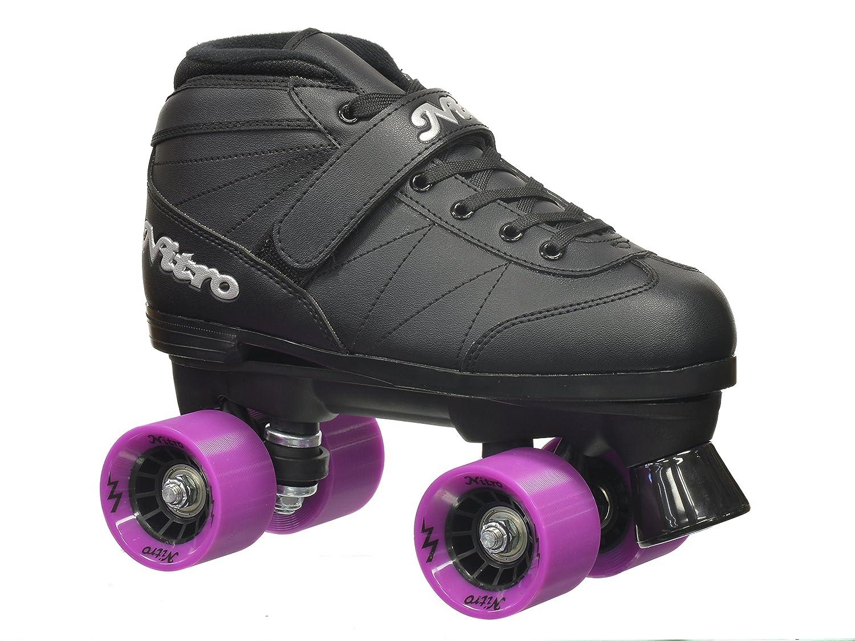 Epic Skates Super Nitro Purple Quad Speed Skates