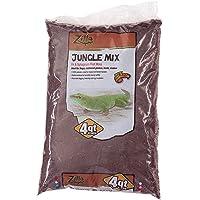 Zilla 100111303 Reptile Terrarium Bedding Substrate Jungle Mix Moss & Fir, 4-Qt.