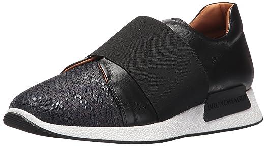 Bruno Magli Men's Dado Fashion Sneaker, Navy Woven, ...