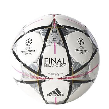 adidas Final Milano Sport - Balón para Hombre, Color Blanco/Negro ...