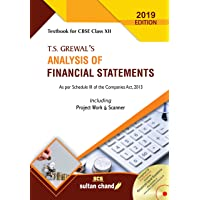 T.S. Grewal's Analysis of Financial Statements: Textbook for CBSE Class 12