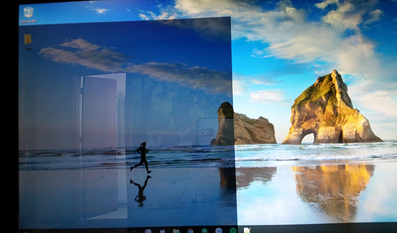 Supreme Tech 303mm x 303mm x 1mm Specchio acrilico trasparente bidirezionale