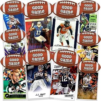 Amazon.com: Paquete de 10 tarjetas de fútbol para fiestas de ...