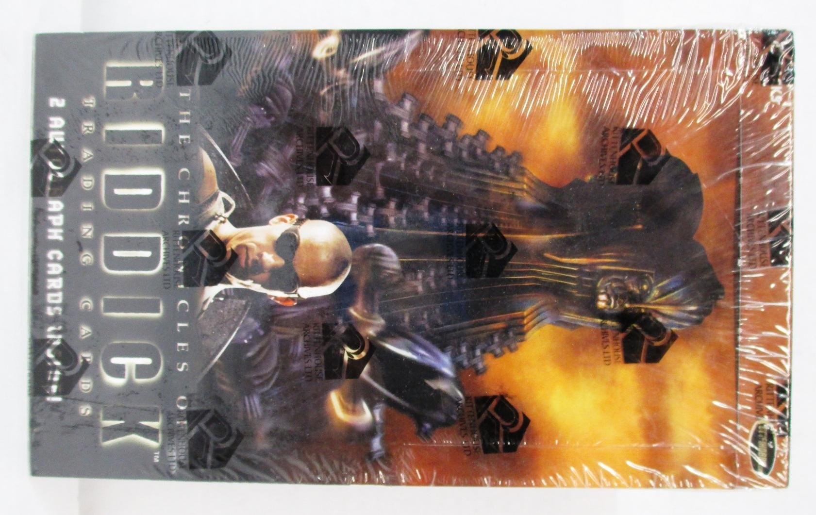 The Chronicles of Riddick Trading Cards Box Set with 2 Autograph Cards by The Chronicles of Riddick