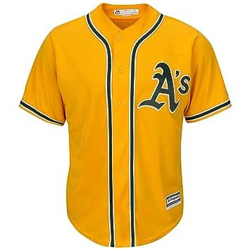 the best attitude 20ce6 7ad9d Majestic Oakland Athletics Trikot Away, XXL: Amazon.co.uk ...