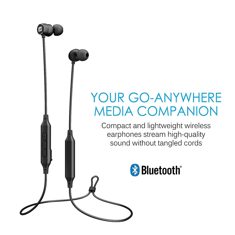 Mee Audio M9B Bluetooth inalámbrico in-ear con cancelación in-Ear auriculares de diadema con micrófono (2017 versión): Amazon.es: Electrónica