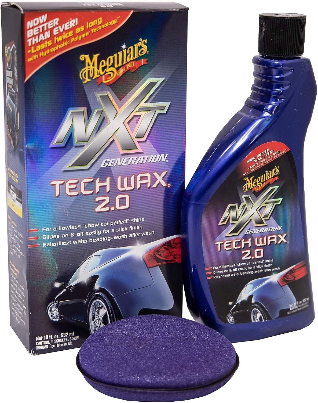 Meguiar S Me G12718 G12718eu Nxt Generation Tech Wax 2 Liquid Wax Autowachs 532ml Auto