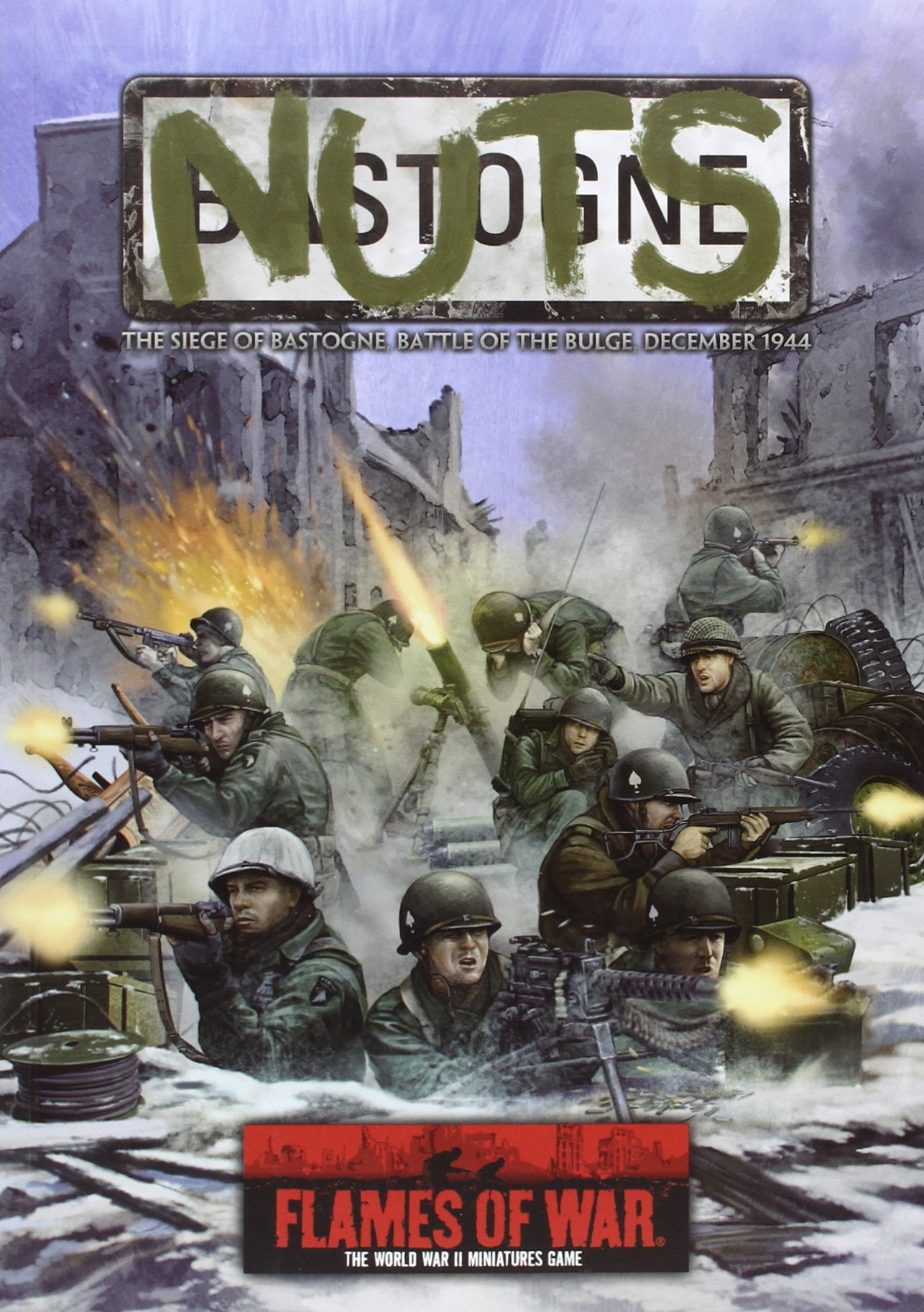 Download Nuts!: The Siege of Bastogne, Battle of the Bulge, December 1944 (Flames of War) pdf epub