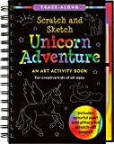 Unicorn Adventure Scratch & Sketch: An Art Activity Book for Creative Kids of All Ages