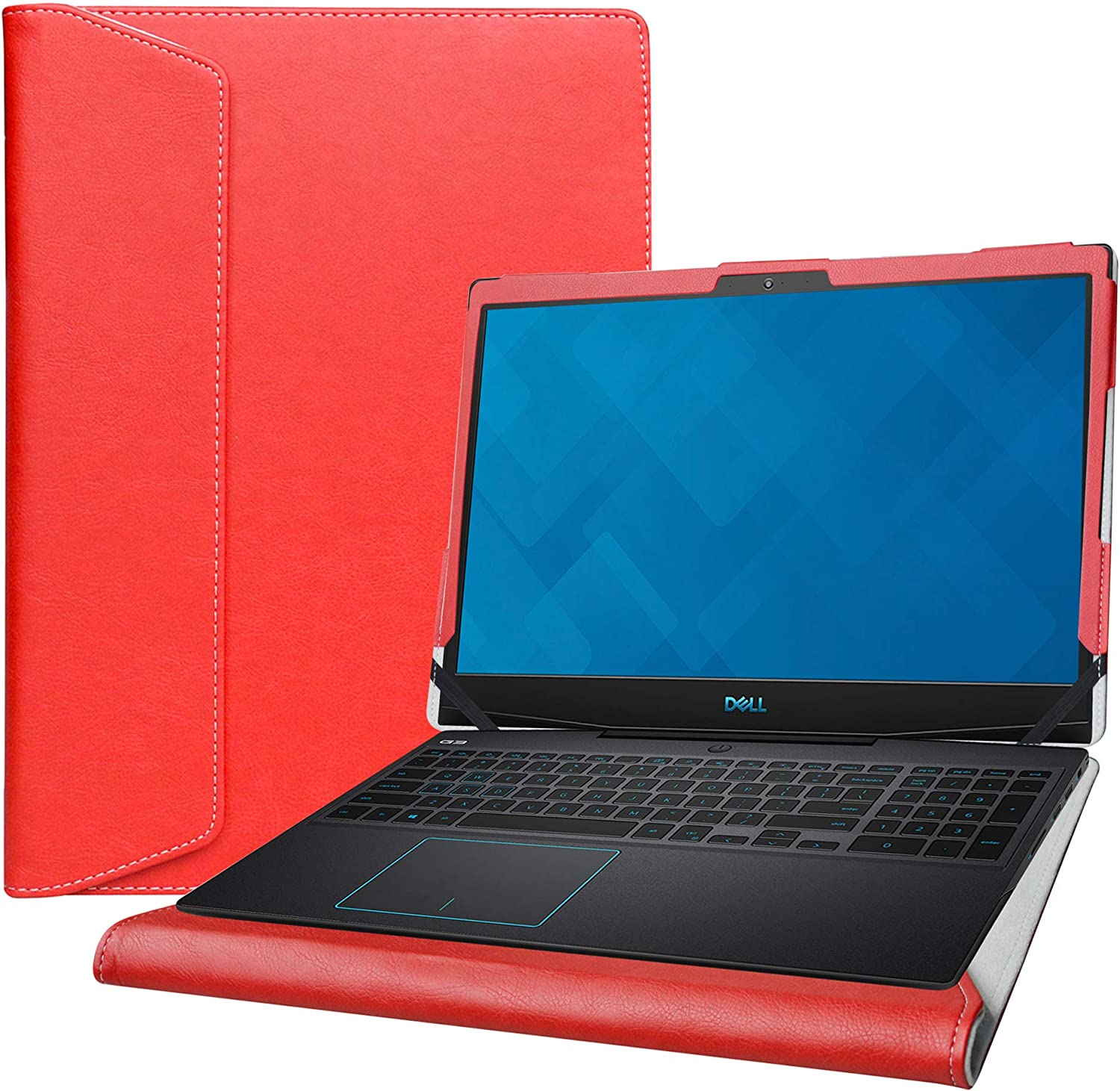 """Alapmk Protective Case for 15.6"""" Dell G3 15 3590 3500 & Acer Aspire 7 A715-74G A715-75G & Lenovo ideapad L340 15 L340-15API/ideapad L3 15IML05 Laptop[Not fit Dell G3 15 3579/Inspiron 15 3590],Red"""