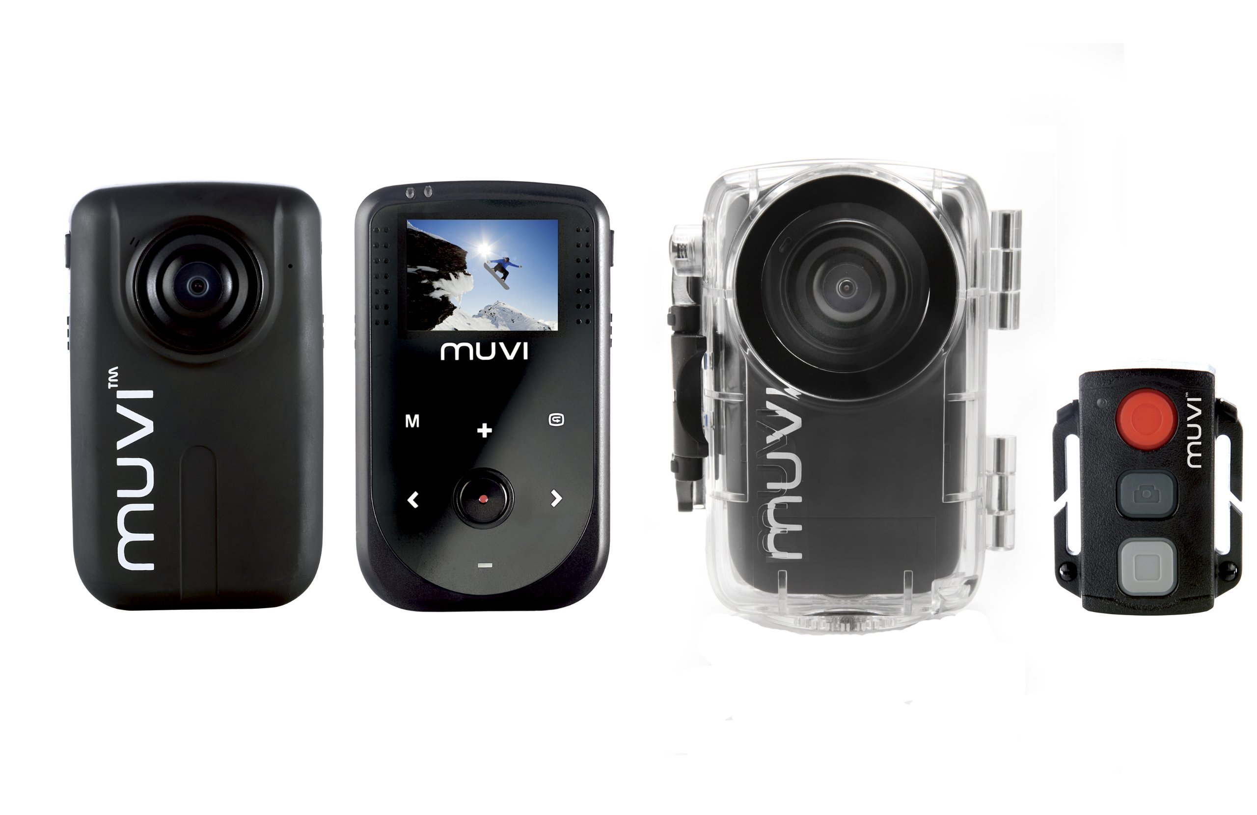 Veho Muvi 1080p HD Pro Mini Camera HD10 with Wireless Remote + Waterproof Case