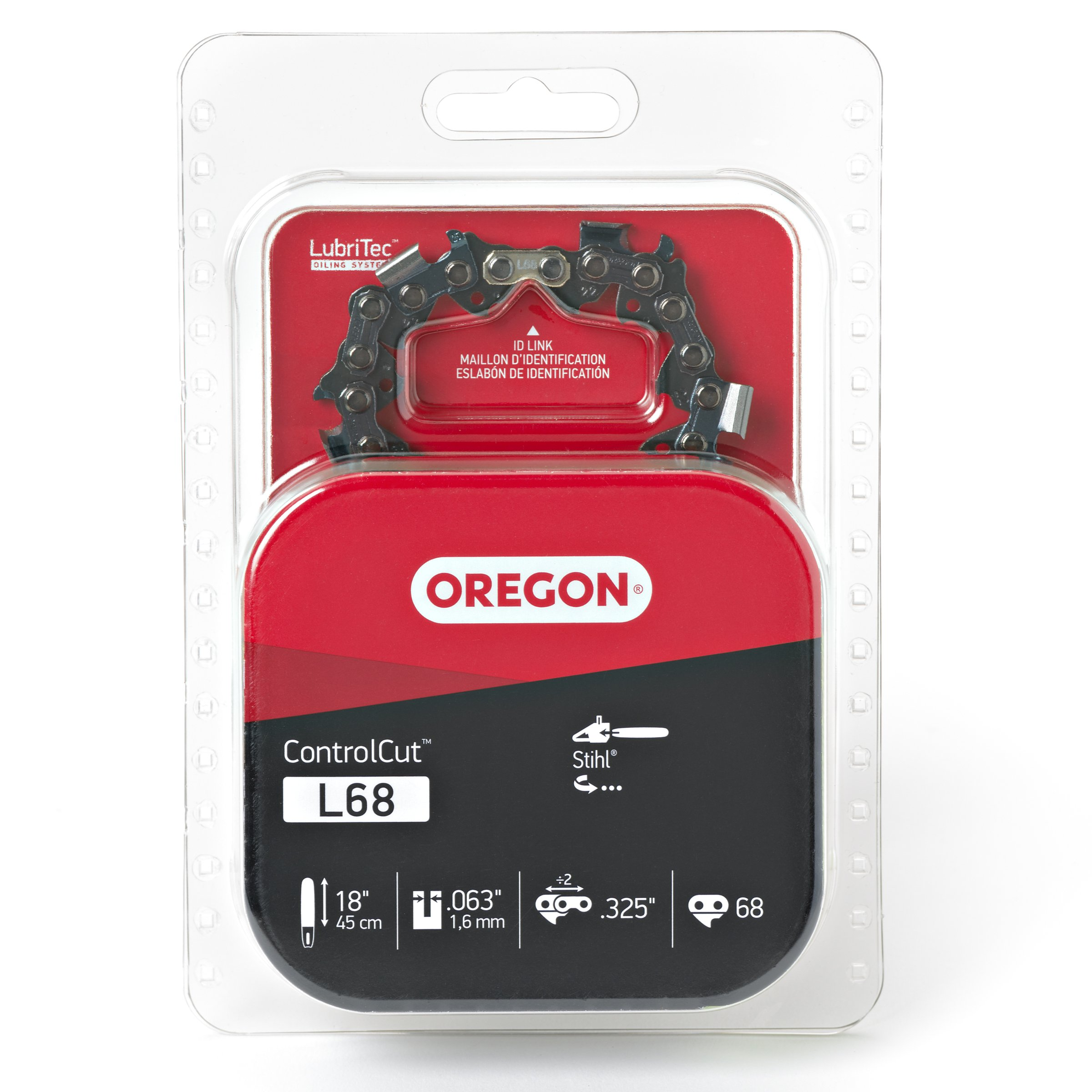 Oregon L68 ControlCut 18-Inch Chainsaw Chain, Fits Stihl by Oregon Cutting Systems