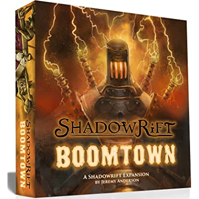 1st EditionBoard Game Shadowrift: Boomtown Expansion: Toys & Games