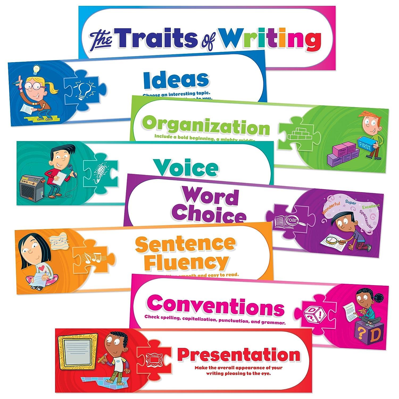 Teacher's Friend Scholastic Traits of Writing Mini Bulletin Board (Tf8075) Teacher's Friend Non-Classifiable Novelty EDUCATION / General