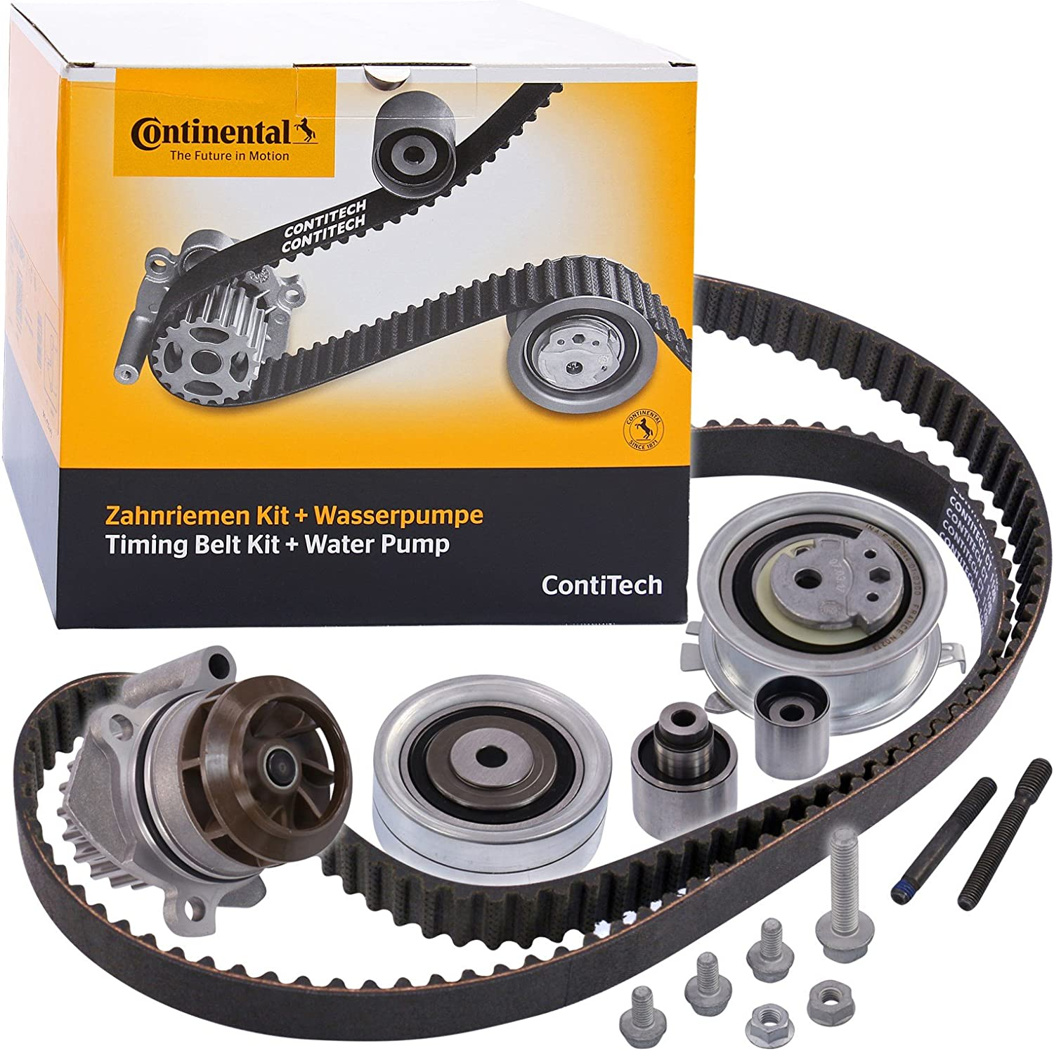 Contitech Ct1139wp6 Water Pump And Timing Belt Kit Auto