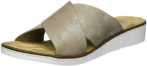 Rieker Damen 63660 Pantoletten
