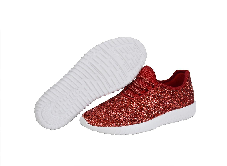womens silver glitter tennis shoes