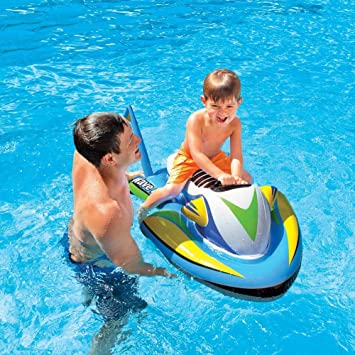 Inflable en forma de moto de agua manejable 117x77 cm INTEX ...