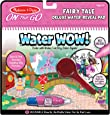 Melissa & Doug On The Go Water Wow! Reusable Water-Reveal Deluxe Activity Pad – Fairy Tale