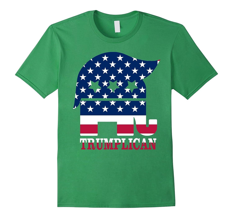 Trumplican Donald Trump Republican Symbol Politics T Shirt Td Teedep