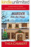 MURDER Sets the Stage (Rooftop Garden Cozy Mysteries Book 2)