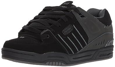 Globe Mens Fusion Skate Shoes, Black/Night, 6 D US
