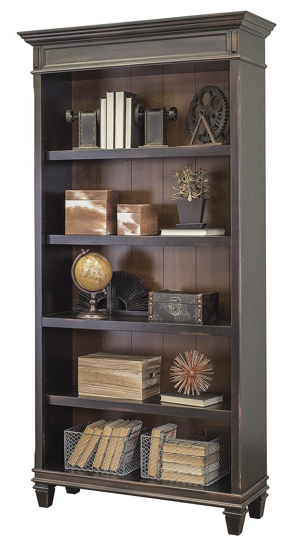 Martin Furniture Hartford Bookcase, Brown – Fully Assembled
