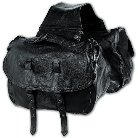 Amazon.com: A-Pro Panniers - Bolsas de piel para sillín de ...