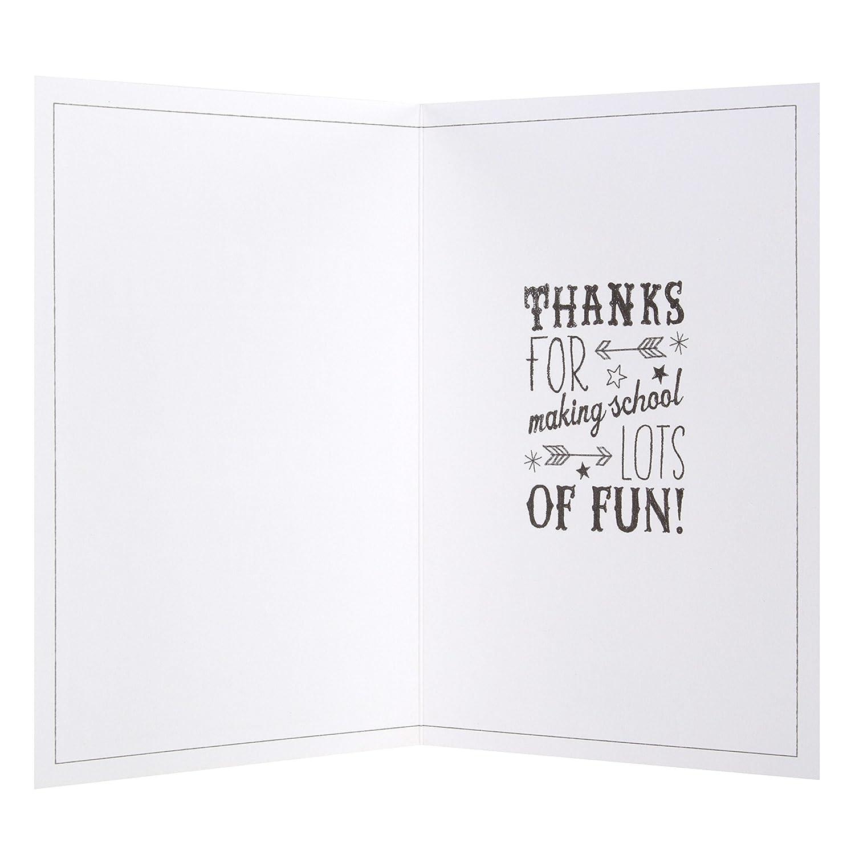 Hallmark – Tarjeta de agradecimiento para profesor